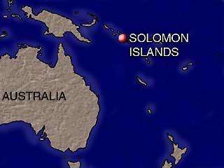 Peta Kepulauan Salomon