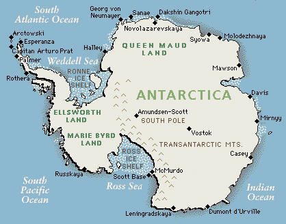 Gambar Benua Antartika