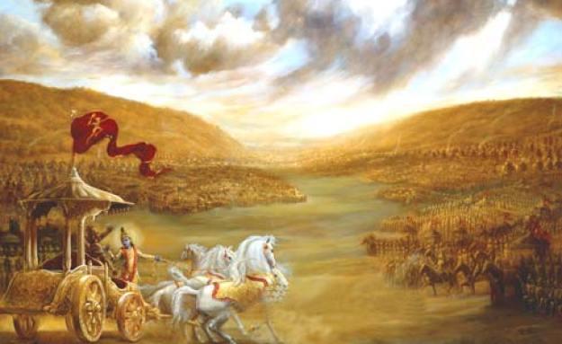 Kisah Perang Bharatayudha