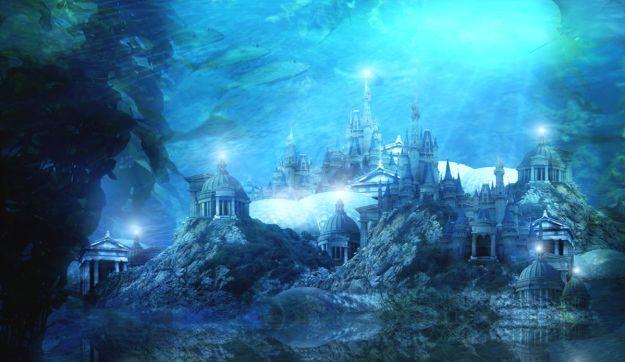 Pulau Atlantis tenggelam dalam sehari-semalam
