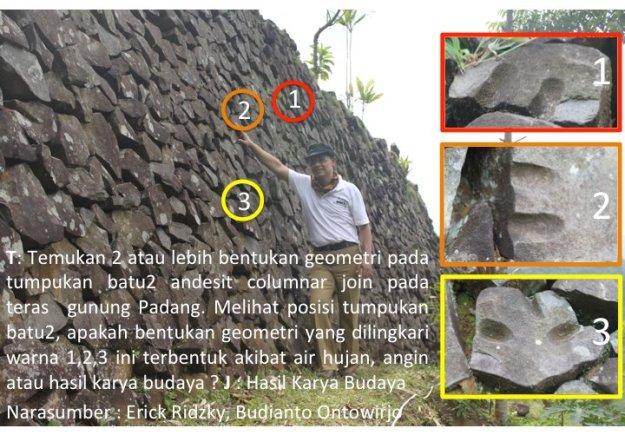 Teka-Teki Batuan Lava di Gunung Padang