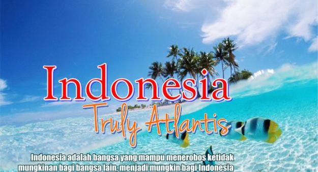 Dari sisi demografi, Atlantis sangat mirip dengan Indonesia