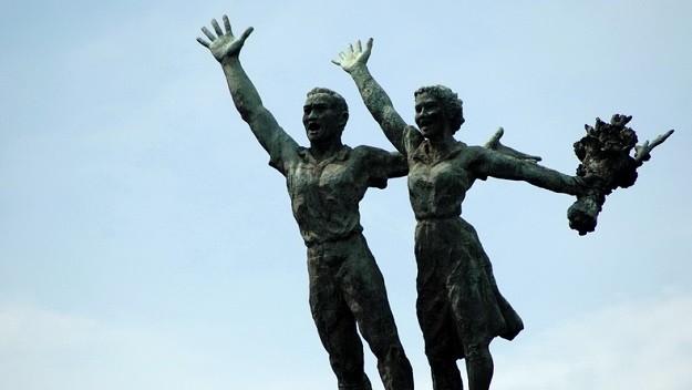 Patung Selamat Datang