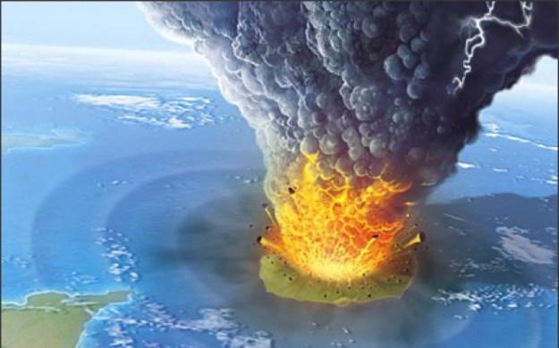 letusan gunung krakatau terdahsyat