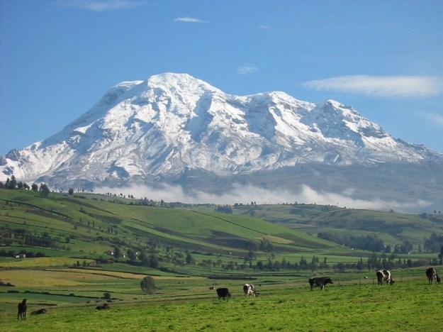 Gunung Chimborazo di Ekuador