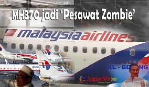 Menjadi pesawat 'zombie'
