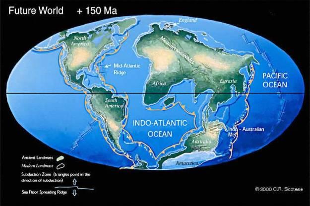 Bumi 150 juta tahun lagi