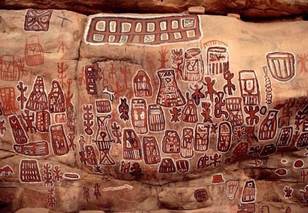 Lukisan Dinding, Suku Dogon
