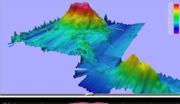 gunung api bawah laut bengkulu