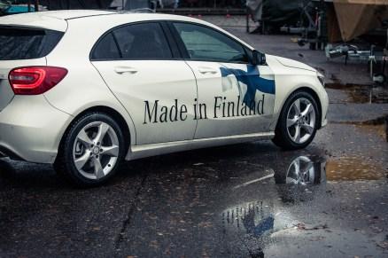 Mercedes-Benz A-sarja kylki
