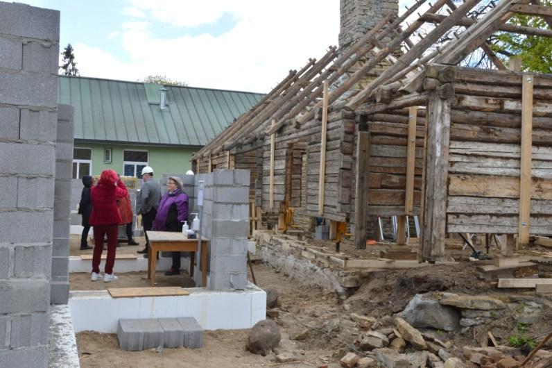 Lihula tervisekeskuse nurgakivi asetamine. Foto: Kristina Kukk