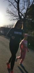 Lõuna-Läänemaa II Jooksunädal: jooksevad Reelika Bormann ja tema tütar Luisa Reeps Virtsust