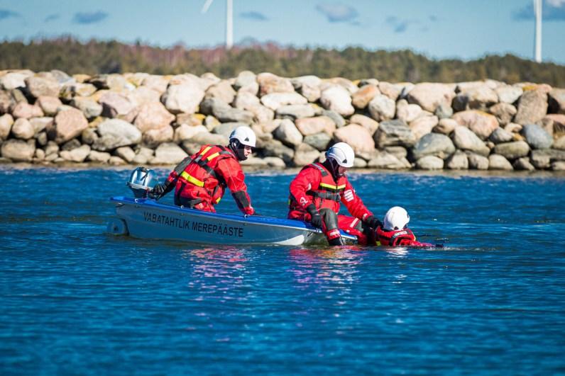 Aasta vabatahtliku merepäästeühingu aunimetuse sai Hanila Tuletõrje Selts / Foto: Siim Solman