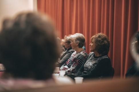 Lääneranna valla eakate päev 2021 toimus 1. oktoobril Kõmsi Rahvamajas / Foto: Geithi Rammul