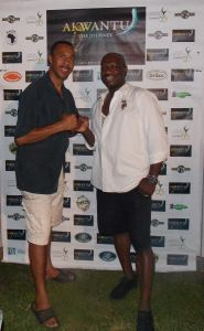 "Director Roy T. Anderson and Maxie DaCosta ""A Jamaica Experience"""