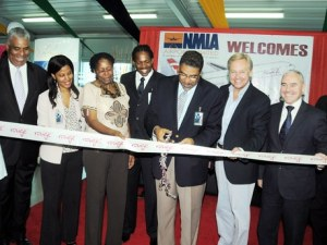 Jamaica welcomes its Two Millionth Stopover Visitors.