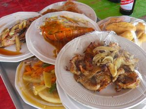 Little Ochi Seafood fest. For the seafood lovers.