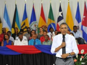 President Obama at The University of the West Indies. Mona Campus.