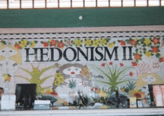 Hedonism II in Negril Jamaica.
