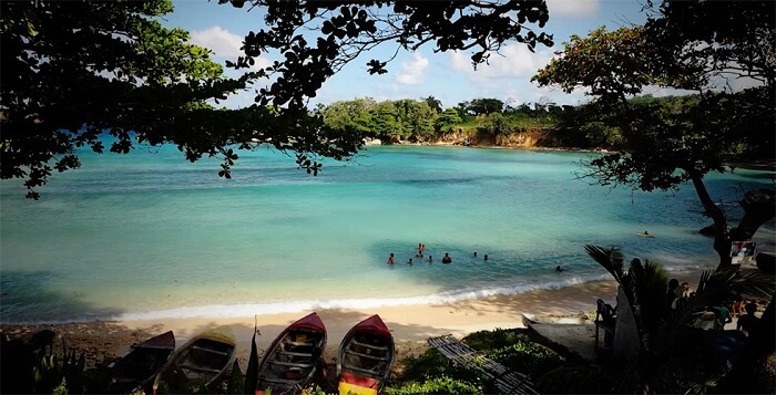Frenchman's Cove, one of the most beautiful Jamaican beaches