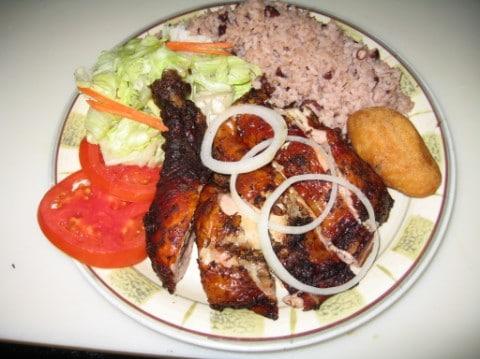 Jerk Chicken at Caribbean One Stop, Orlando