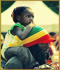 Rastafari Rally Round Rasta Colors Red, Gold, Black and Green.