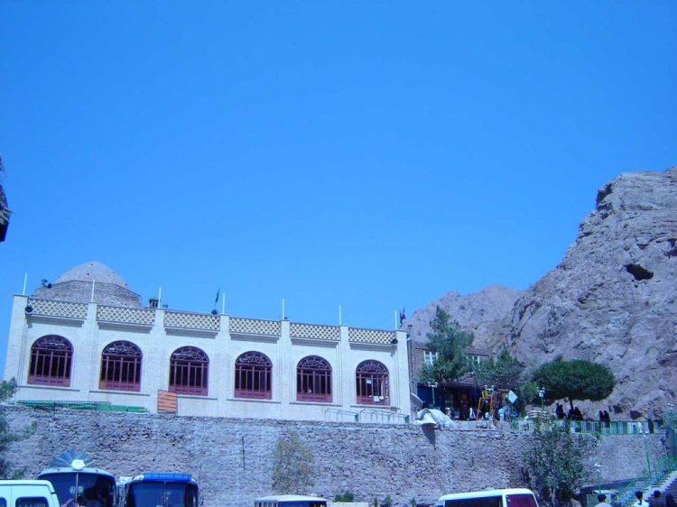Bibi Shahrbanu's Shrine in Shahr-e Ray.