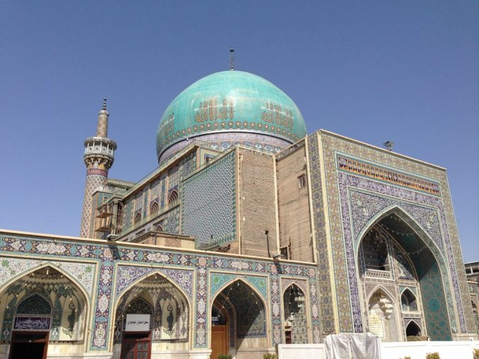 Gohar Shad Mosque, built in 1418 by Qavam al-Din Shirazi