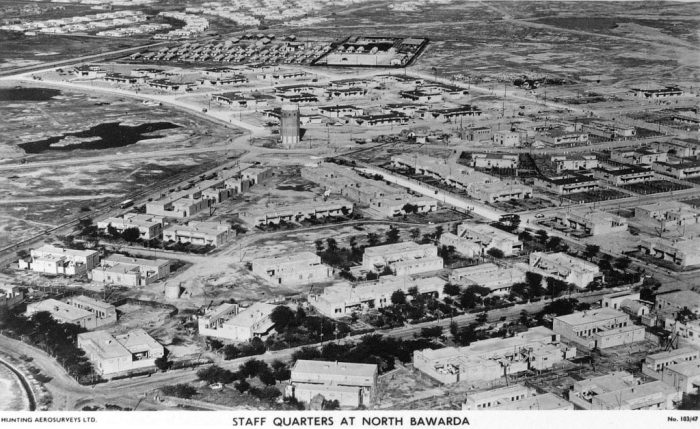 Aerial views of Abadan, probably late 1920s or 1930s.