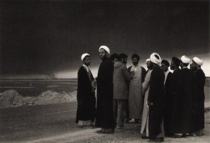 Clergymen -- place and date unknown, but probably during the Iran-Iraq War in Khuzestan.