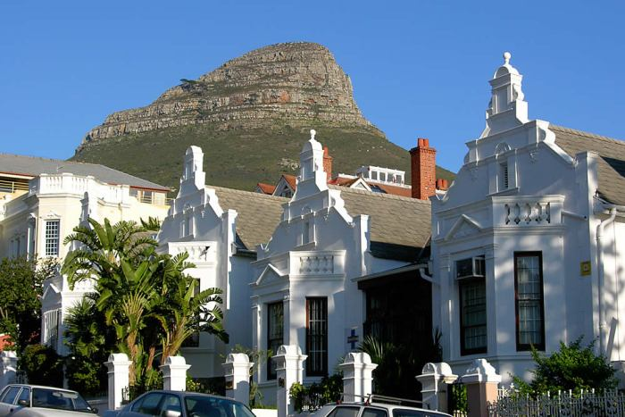 Victorian architecture in Cape Town.