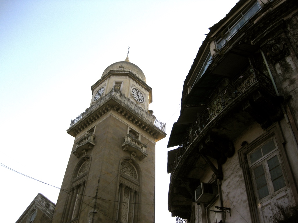 The Agha Khan's clocktower. Photo: Sarover Zaidi