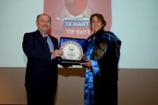 DSC 6385 1 - 14 Mart Tıp Bayramı Üniversitemizde Düzenlenen Törenle Kutlandı