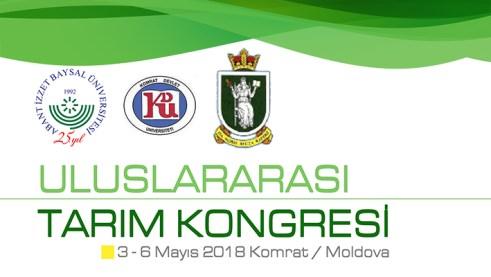 tarimbanner - Uluslararası Tarım Kongresi/Moldova-Komrat