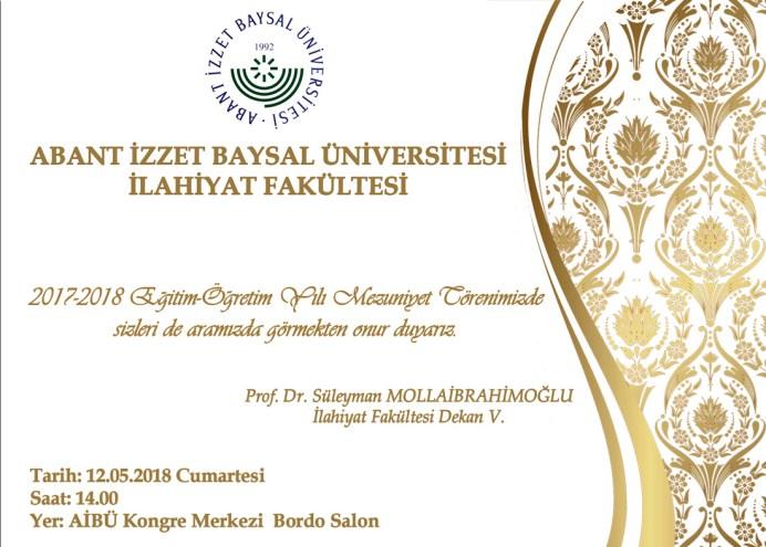 ilahiyat - İlahiyat Fakültesi Mezuniyet Töreni