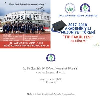 TIP1 - Tıp Fakültesi Mezuniyet Töreni