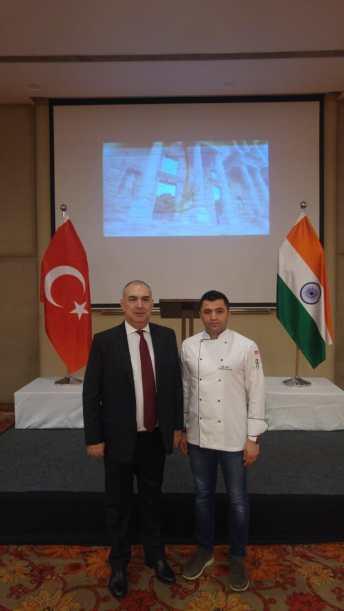 1 - Hindistan'da Türk Mutfağını Tanıttı
