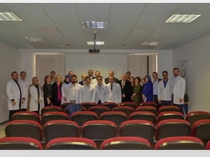 DSC00580 - Üniversitemiz Tıp Fakültesi Radyoloji Bölümü Türk Radyoloji Yeterlilik Kurulu'nun Denetiminden Geçti
