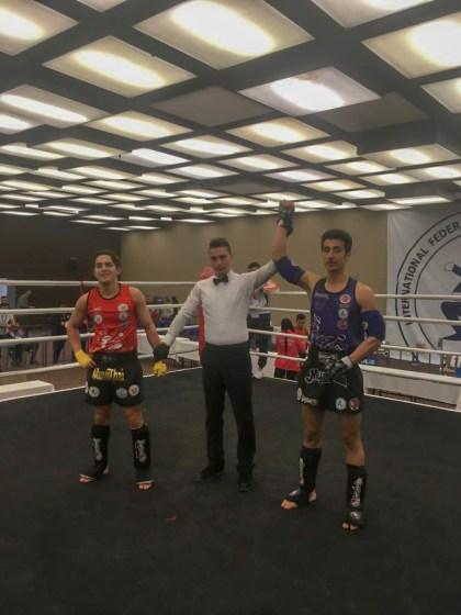 muay thai 4 - Üniversitemiz İki Türkiye Şampiyonası'ndan Ödüllerle Döndü
