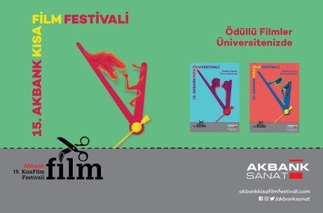 15.kısafilmfestivali - 15. Akbank Kısa Film Festivali Ödüllü Filmleri, BAİBÜ'lü Sinemaseverlerle Buluştu