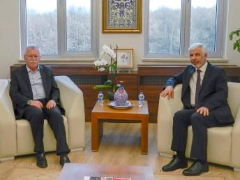 DSCN0257 - Bakırçay Üniversitesinden BAİBÜ'ye Ziyaret
