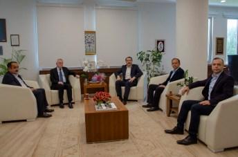 DSC 9043 - Memur-Sen Genel Başkanı Ali Yalçın'dan Rektör Alişarlı'ya Ziyaret