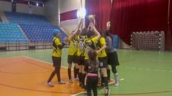 futbol 3 - BAİBÜ Kadın Futbol Takımı, Üniversiteler Arası Salon Futbolunda 1. Lig'e Yükseldi