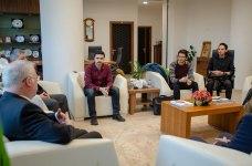 DSC 0307 - SEDAŞ Proje Fikri Yarışması'nda Ödül Alan Öğrencilerden Rektör Alişarlı'ya Ziyaret