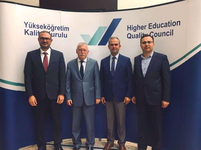 YÖKAK 2019 - Rektör Alişarlı, YÖKAK Toplantısına Katıldı