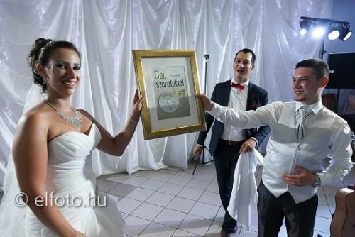 Ajándék esküvőre: Szilvi és Józsi + Hubadúr-dal