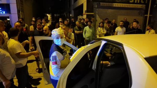 Polisten kaçan alkollü sürücü kazaya neden oldu, hastanede gözaltına alındı 14