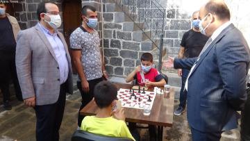 Diyarbakır'da 'Sokakta Satranç Var' turnuvası
