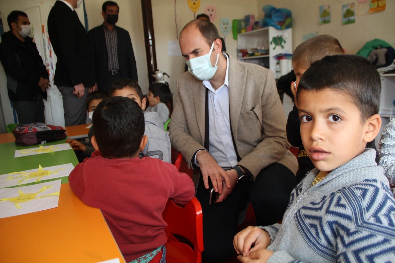 Başkan Türkmen,Öğrencilerin Heyecanına Ortak Oldu