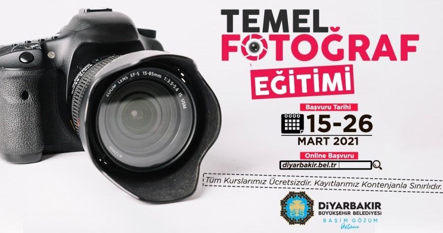 Diyarbakır'lı gençlere fotoğraf kursu